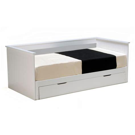 table cuisine extensible banquette lit extensible tiroir couchage 90x190cm en