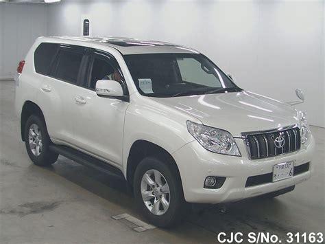 2013 Toyota Land Cruiser Prado White For Sale