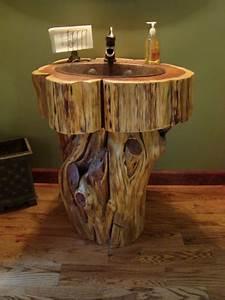 Wow, 12, Tree, Stump, Vanities, You, Must, See