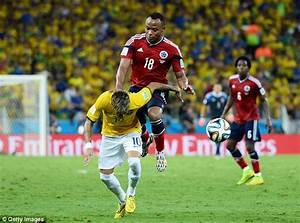 Brazil vs Colombia in Copa America 2015 has become Neymar ...