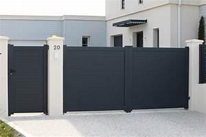 Portail En Aluminium : portail et portillon une s curit pour votre habitation ~ Melissatoandfro.com Idées de Décoration