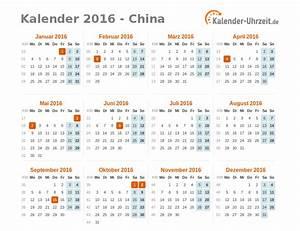 Kalender Zum Ausdrucken 2016 : feiertage 2016 china kalender bersicht ~ Whattoseeinmadrid.com Haus und Dekorationen
