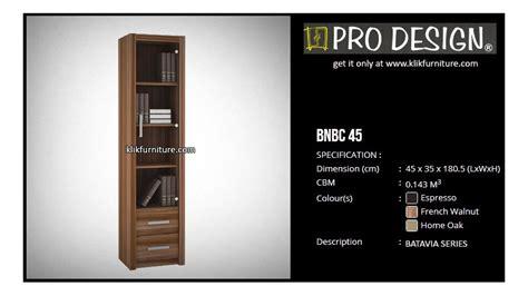 bnbc  lemari rak buku kantor pro design sale