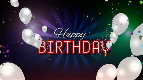 Happy Birthday Backgrounds by Happy Birthday Background Motion Background Storyblocks