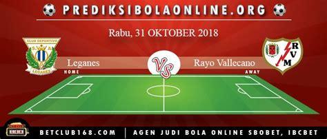 Currently, rayo vallecano rank 7th, while leganés hold 3rd position. Pin di Prediksi Bola Online Terpercaya