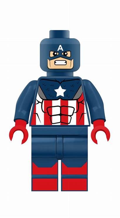 Lego Captain America Clipart Avengers Transparent Marvel