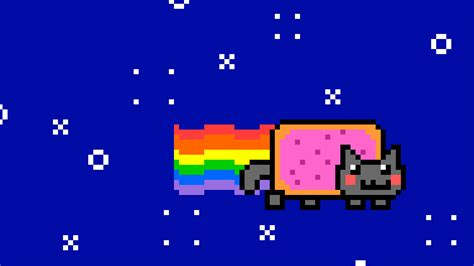 Pixel Nyan Cat By Blueovers On Deviantart