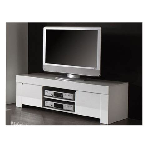 meuble t 233 l 233 design blanc laqu 233