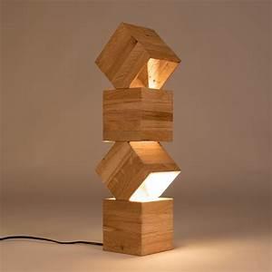 danquen handmade wooden floor lamp lune et animo With stacking d floor lamp