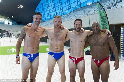 Jamie Redknapp Throws Himself Into Diving Challenge