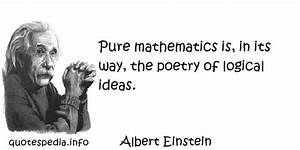 Math Quotes By ... Maths Logic Quotes