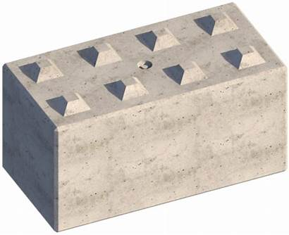 Concrete Blocks Precast Interlocking Temporary