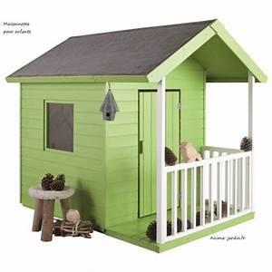 Maisonnette Enfant Pas Cher : maisonnette en bois pour enfants kangourou chalet pas cher ~ Melissatoandfro.com Idées de Décoration