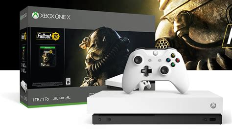 fallout 76 reveals special robot white xbox one x bundle