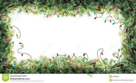 christmas tree frames christmas lights decoration