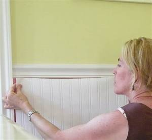 whoa wainscoting wallpaper ooh do you think that39s With water resistant wainscoting for bathroom