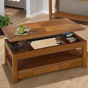 Jofran 480 Series Wood Lift-Top Cocktail / Coffee Table in
