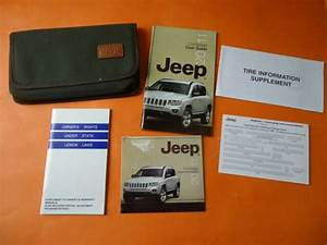 2011 Jeep Compass Owners Manual User Guide Book Cloth Case