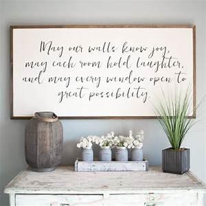 May, Our, Walls, Know, Joy, 4, U0026, 39, X2, U0026, 39, Wood, Sign