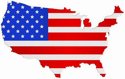 Flag Usa Map Clip Clipart American America