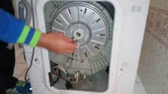 machine 224 laver lave linge lg direct drive probl 232 me moteur tambour ne tourne pas bloque coince