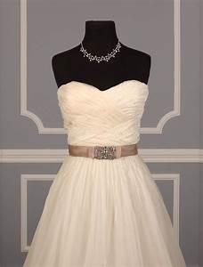 Reem Acra 4223 Orchid Wedding Dress Tradesy Weddings