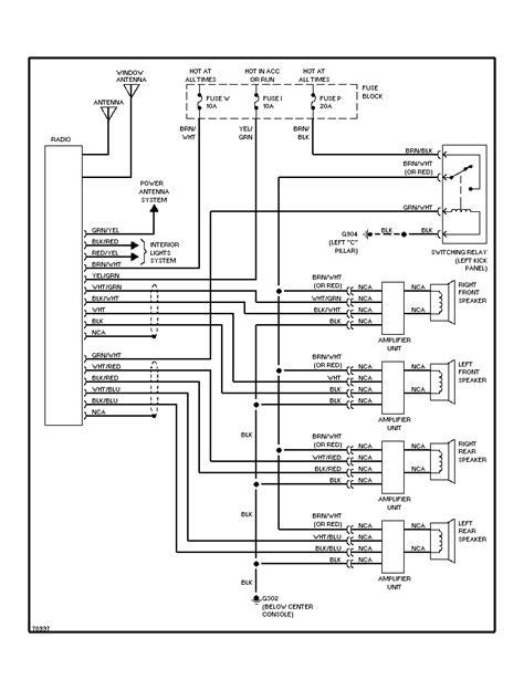 Nissan Maxima Tail Light Parts Diagram