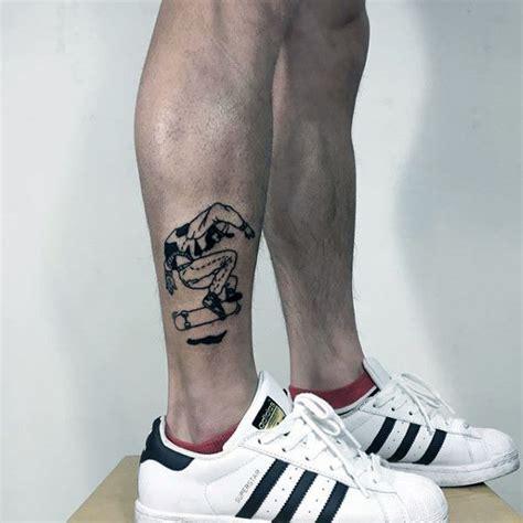 skateboard tattoos  men cool design ideas  roll