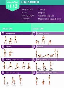 Bikini Body Guide Legs  U0026 Cardio Monday 1  U0026 3