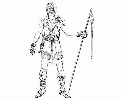 Skyrim Coloring Elder Scrolls Armor Dragon Nord