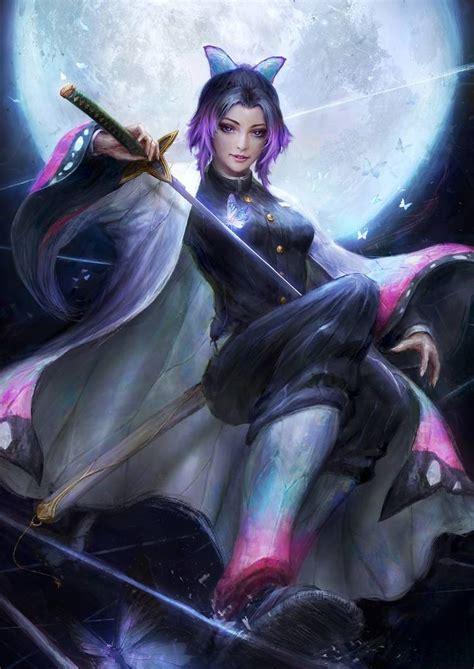 Shinobu Kocho By Thedurrrrian On Deviantart Anime Demon