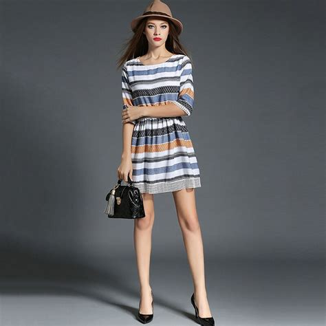 The New Fashion Casual Hot Sale Stripe Hollow Out Women