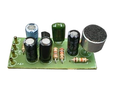 Microphone Amplifier Electronics Project