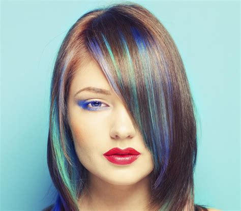 Coloring Hair Blue by Hair Coloring And Highlighting Ideas That Never Go Out Of