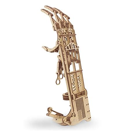 wood trick robotic hand mechanical models  wooden puzzles diy toy assembly ebay