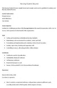sle student affairs resume objectives for nursing students eliving co