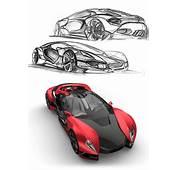 Ferrari F750 Concept  My Car Skeches Designs Drawings