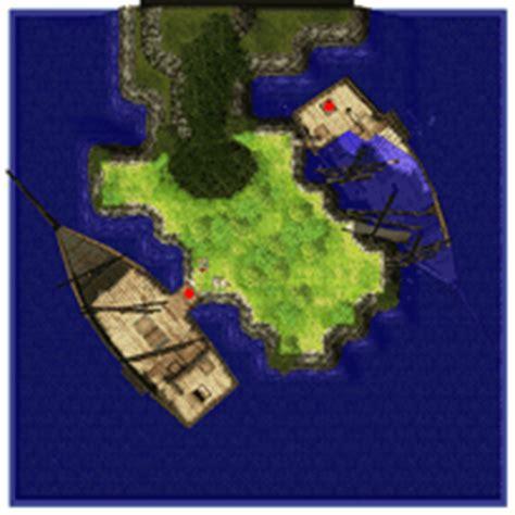 sunken ship treasure island ragnarok  map