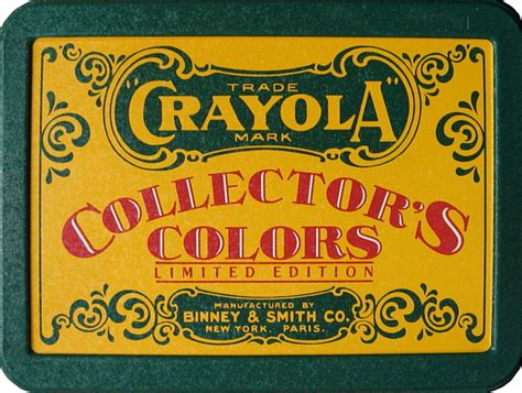 Crayola Collector's Colors Limited Edition Set *SOLD*