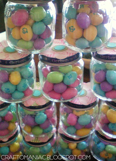 Baby Shower Favors From Recycled Baby Food Jars Crafto