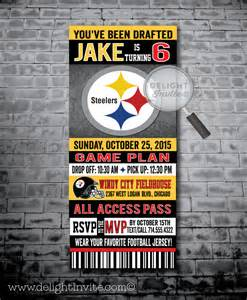 Steelers Football Birthday Party