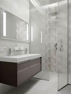 Meubles et decor couleur gris dans 5 appartements modernes for Meuble de salle a manger avec cuisine carrelage gris anthracite
