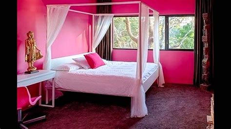 Pink Bedroom Paint Colors Youtube