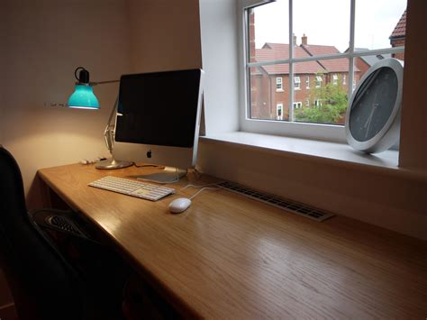 extra long computer desk furniture diy reclaimed wood long computer desk for two