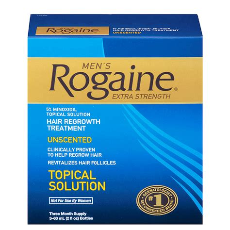 Rogaine Extra Strength for Men and Women with Hair Loss