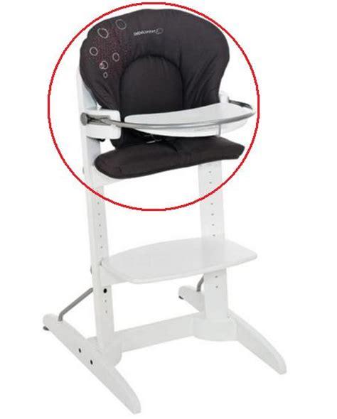 housse de chaise haute bebe housse de chaise woodline black les bébés du bonheur