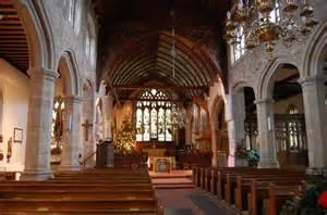 interior st dunstans church mayfield  julian p guffogg