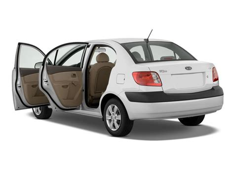 2009 Kia Rio 4-door Sedan Auto Lx Open Doors, Size