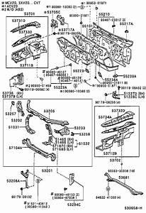 Toyota Solara Insulator Assembly  Dash Panel  Interior