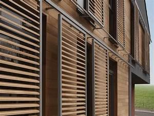 Brise Vue 400g M2 : brise soleil de fa ade en bois orientable ducoslide luxframe duco building details and ~ Melissatoandfro.com Idées de Décoration